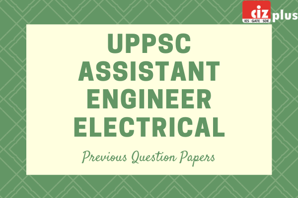 UPPSC AE Electrical Prev. Question Papers cover