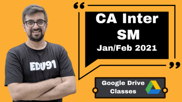 CA Inter Strategic Management Online Classes - Google Drive - Nov 2020 cover