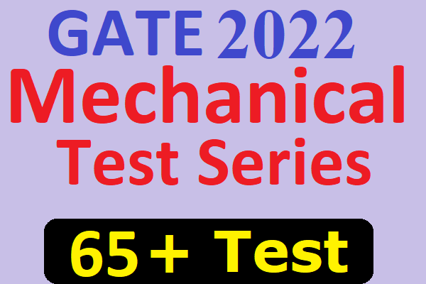 GATE 2022 Mechanical Test Series | Mock Test for GATE Mechanical Engineering cover
