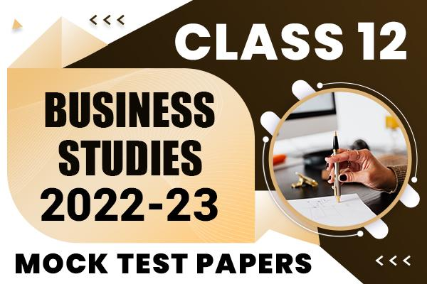 Business Studies Class 12 Sample Papers 2021 | suggested answers and marking scheme cover