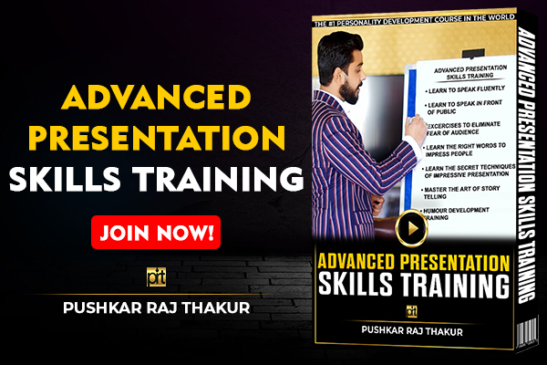 Advanced Presentation Skills Training cover