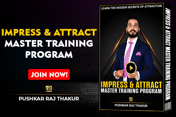 Impress & Attract Anyone Master Training Program cover