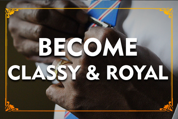 Learn to Maintain a Class & Become a Royal Personality cover