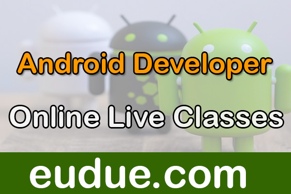 Android Developer Online Live Classes cover