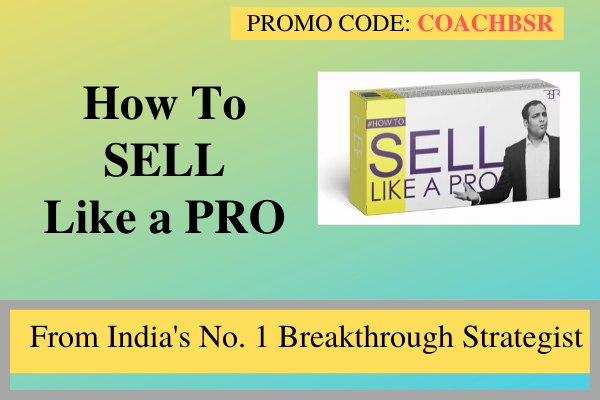 HOW TO SELL LIKE A PRO cover