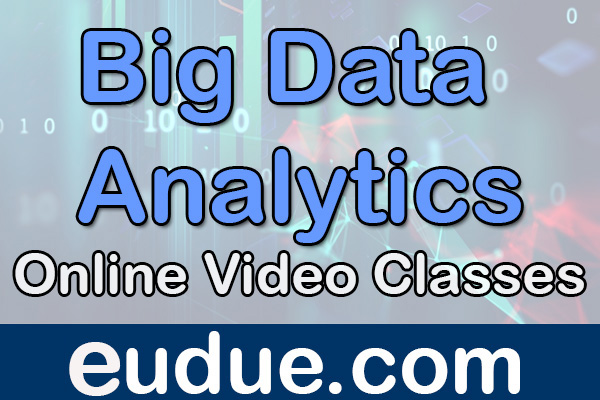 Big Data Analytics Online Video Classes cover