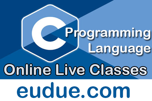 C Programming Language Online Live Classes cover