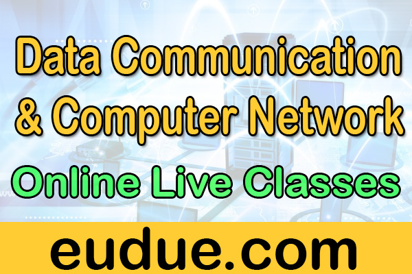 Data Communication and Computer Network Online Live Classes cover