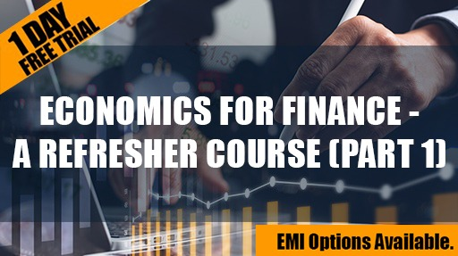 Economics for Finance - A Refresher Course (Part 1) cover