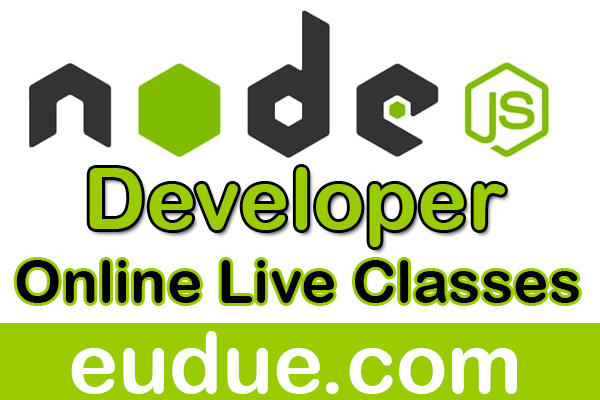 Node.js Developer Online Live Classes cover