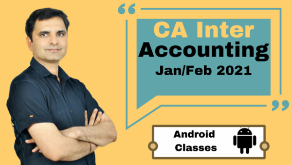 CA Intermediate Accounting Classes - Android App - Nov 2020 cover