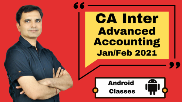 CA Intermediate Advanced Accounting Classes - Android App - Nov 2020 cover