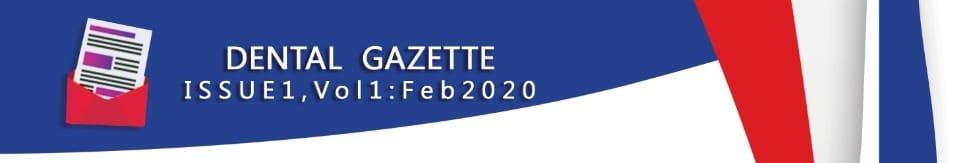 Dental Gazette - Monthly eNewsletter cover