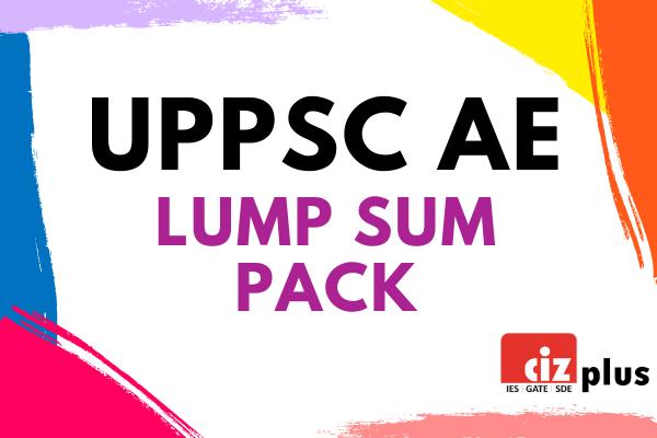 UPPSC AE Lump Sum Pack cover