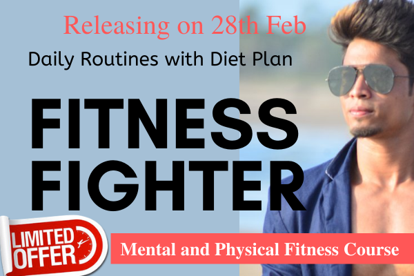 Fitness Fighter- Body Building & Fitness Course with Diet Plan cover