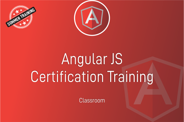 Angular Js - Summer Training cover