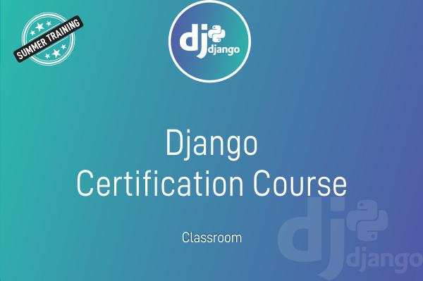Django - Summer Training cover