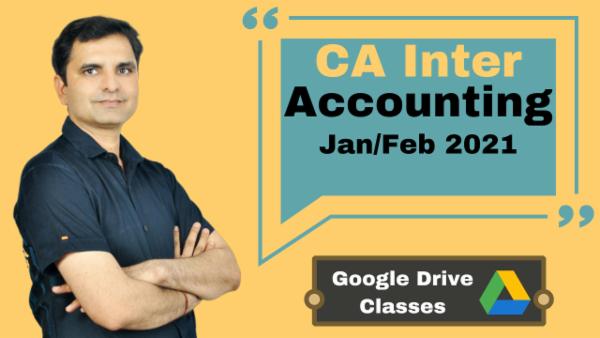 CA Inter Accounting Online Classes - Google Drive - Nov 2020 cover