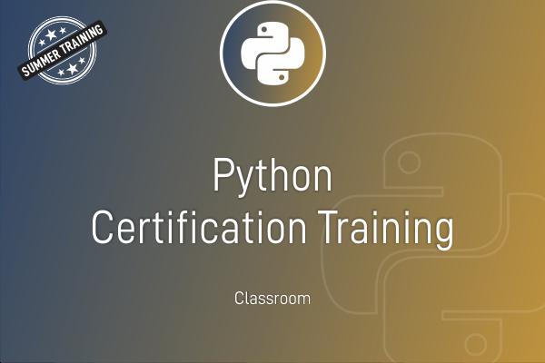 Python - Summer Training cover