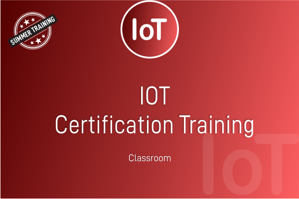 IOT - Summer Training cover