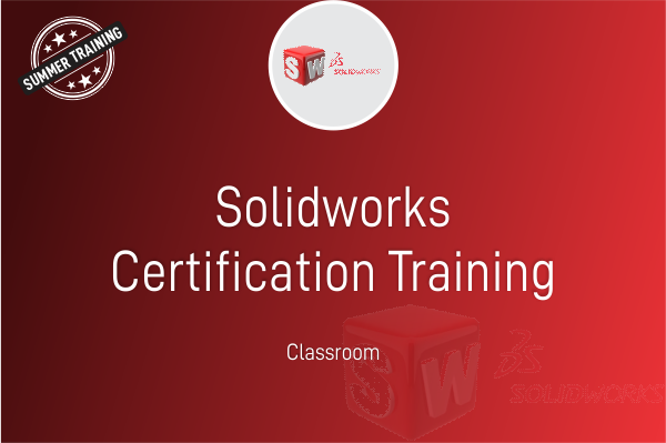 SOLIDWORKS - Summer Training cover