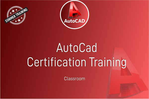 AutoCAD - Summer Training cover