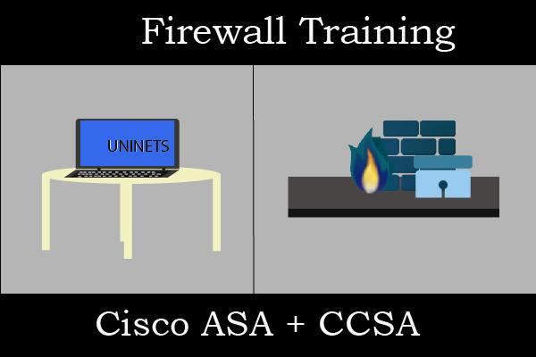 Cisco ASA + Checkpoint CCSA Firewall Combo cover