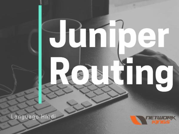 Juniper Routing cover