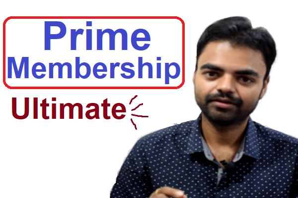 Ujjwal Kumar Sen Prime Membership Ultimate cover