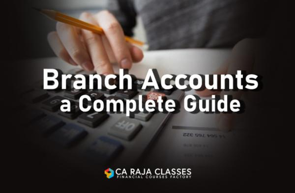 Branch Accounts a Complete Guide cover
