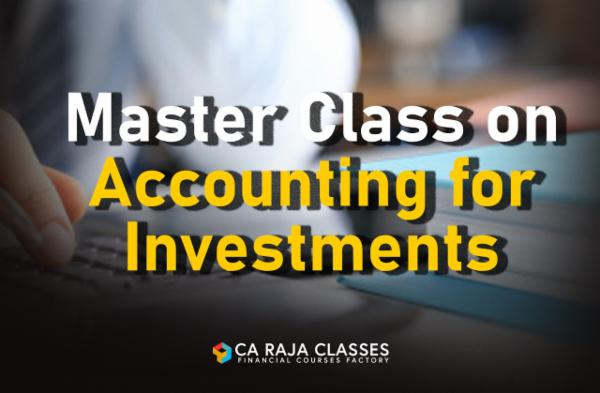 Master Class on Accounting for Investments cover