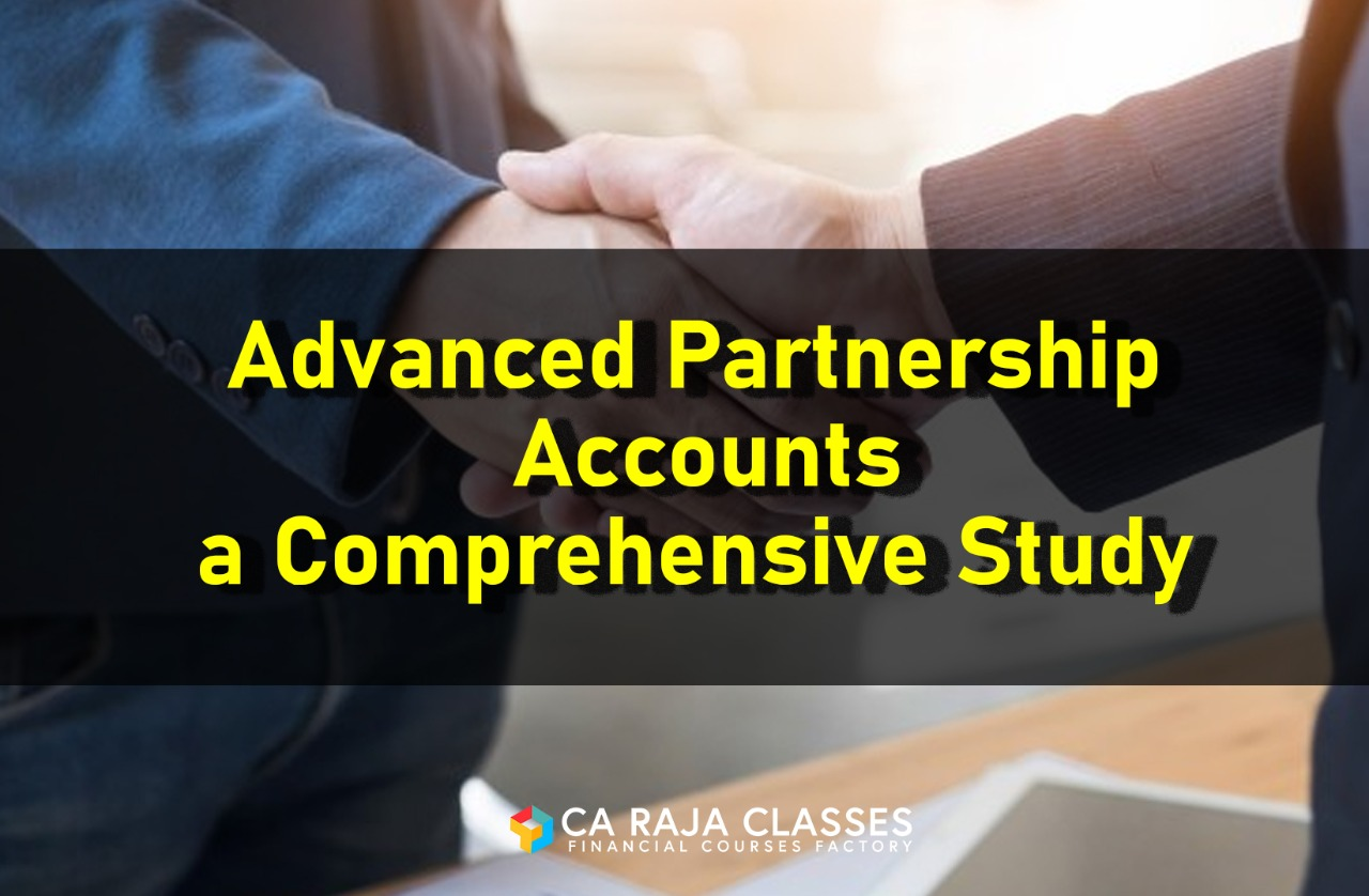 Advanced Partnership Accounts a Comprehensive Study cover