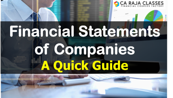 Financial Statements of Companies - A Quick Guide cover