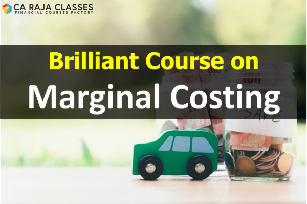 Brilliant Course on Marginal Costing cover