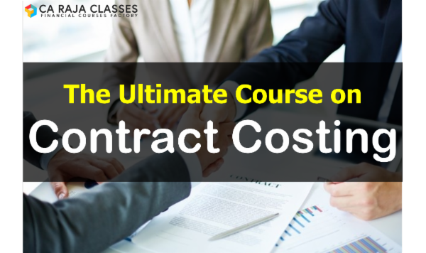 The Ultimate Course on Contract Costing cover