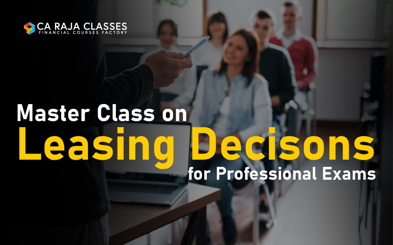 Master Class on Leasing Decisions for Professional Exams cover