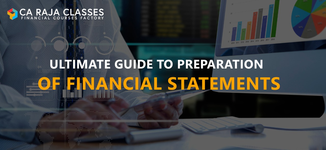 Ultimate Guide to preparation of financial statements cover