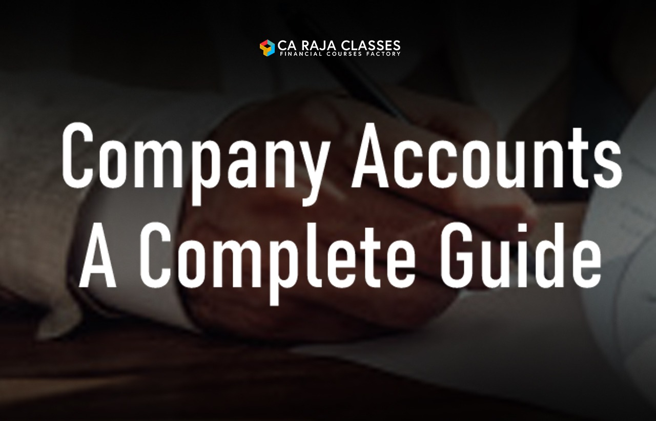Company Accounts a Complete Guide cover