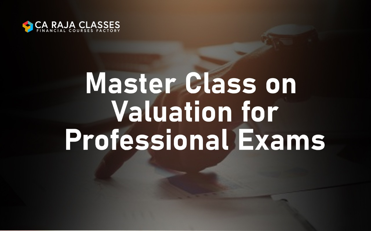 Master Class on Valuation for Professional Exams cover
