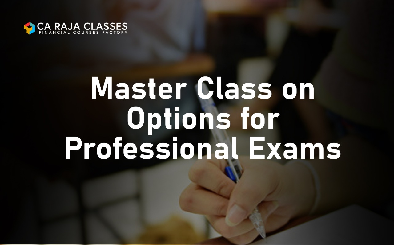 Master Class on Options for Professional Exams cover