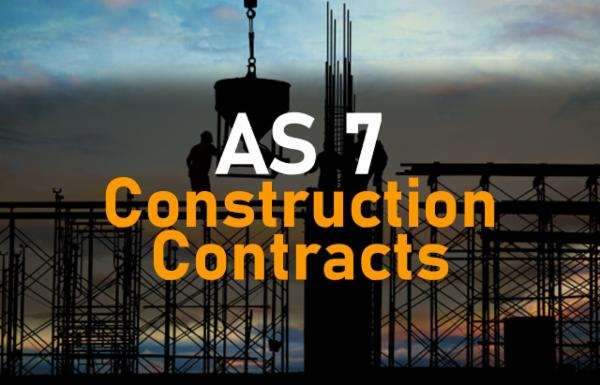 AS 7 Construction Contracts cover