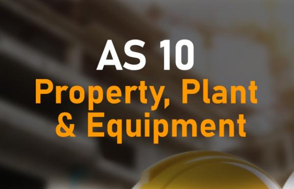 AS 10 Property, Plant & Equipment cover