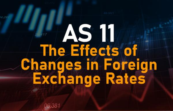 AS 11 The Effects of Changes in Foreign Exchange Rates cover