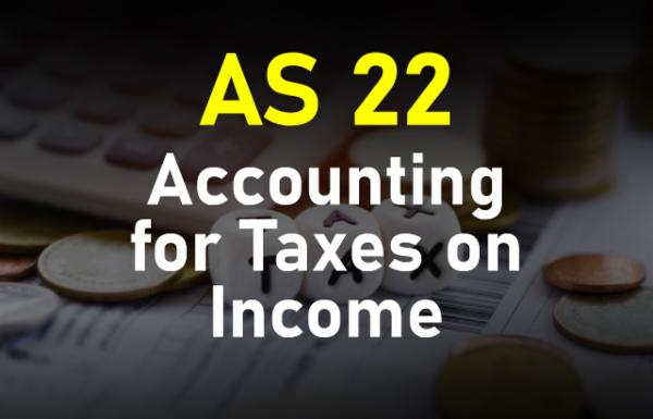 AS 22 Accounting for Taxes on Income cover