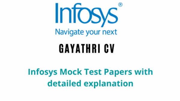 Infosys Mocktest Papers cover