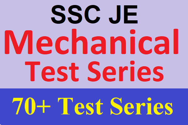 Best Online Test Series for SSC JE Mechanical Engineering | Online Test Series for SSC JE 2019 cover