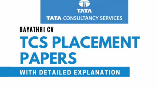 TCS Placement Papers cover