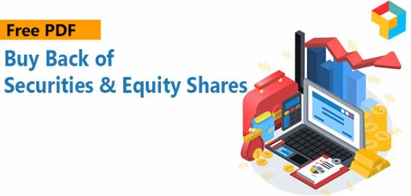 PDF - Buy Back of Securities & Equity Shares cover