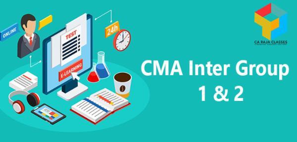 CMA Inter Group I & II cover