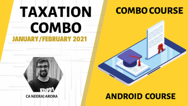 CA Inter Taxation Full Course - Nov 2020 - Android App cover